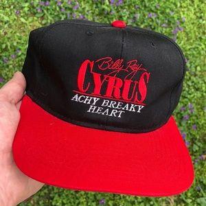Vintage 90's Billy Ray Cyrus Hat Snapback